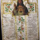 Gold Christ the King Fiddleback w/Roses Chasuble Set+Stole,Maniple,Burse,Veil