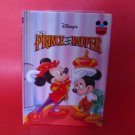 Disney's Prince and the Pauper First American Edition Near Mint Hardcover 1993