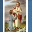 Vintage Holy Card Lot Sacred Heart First Communion 10 Cards @ $4.99 Italy NOS