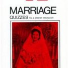 Marriage Quizzes Catholic Answers Radio Replies Trad Vintage Reprint by TAN
