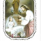 First Communion Greeting Card Catholic Girl Spanish