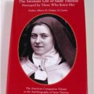 The Intimate Life of Saint Therese by Fr. Albert Dolan,OC Hardcover Dust Jacket