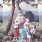 Holy Card Lot 16 Cards @ $5.99 Virgin Mary w/Children
