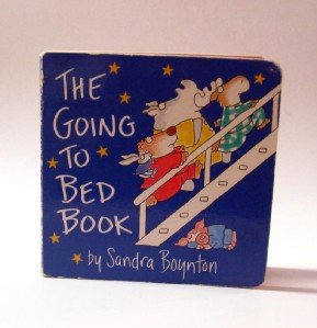 The Going to Bed Book by Sandra Boynton Board Book plus School Matchbox Book