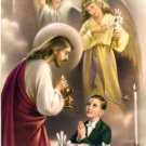 First Holy Communion Holy Card Lot Boy 16 Cards @ $5.99 Cromo Milano Italy