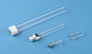 H typpe quartz germicidal lamp