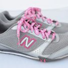 New Balance 460 Silver Pink Breast Cancer Women Athletic Running Shoes Size 9.5