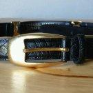 Harve Benard  Genuine Leather Belt Black Large