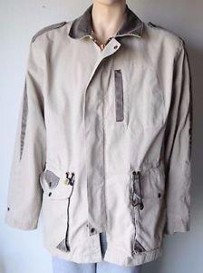 Men's Large Kakadu Traders Australia Cotton Canvas Winter Work Coat Jacket