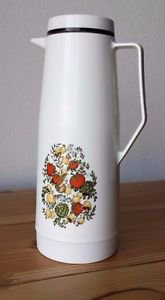 VTG King Seeley Tall Carafe Thermos Hot Cold Beverage Container 36 oz USA Made