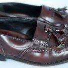 Florsheim Men's Loafer Wingtip Slip On Dress Shoe Leather Dark Maroon 8