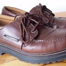 Rugged Outback Men's Casual or Dress Loafer Slip On Shoes w Laces 10 Chunky Sole