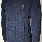 Men's Chaps Ralph Lauren Long Sleeved Crew Neck Pullover Sweater Medium