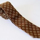 "Vintage Brown Skinny 3""  Short 55""  Neck Tie Polyester"