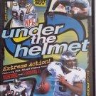 NFL Under the Helmet Extreme Action (DVD) Chris Carter, McNabb, Faulk, & More!
