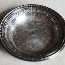 Reed & Barton Silver Plate Tray 6 inch Tooled Engraved Perfume Candy Dish