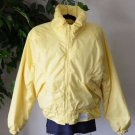 VTG 80's Lady's 14 Yellow Slalom Lined Puffy Winter Ski Party Coat USA Made