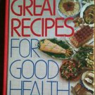 Readers Digest Great Recipes For Good Health Cooking Cook Book EUC
