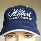 Otto Wilbert Precast Concrete Velcro Navy Blue Adjustable Baseball Cap Hat