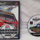 Nascar Thunder 2002 PS2 Sony PlayStation 2 Game Disc, Manual & Case