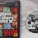 Grand Theft Auto 3 PS2 Sony PlayStation 2 Game Disc & Case