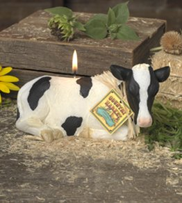 Sculpted Cow Specialty Candle by Lava Enterprises