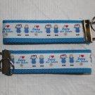 Daisy Girl Scout Wristlet Keychain