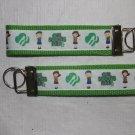 Girl Scout Wristlet Keychain
