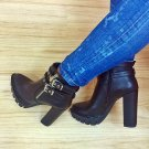 Black  HIGH HEEL WOMEN BOOTIE