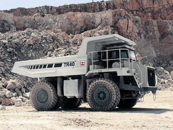 Terex TR40 Off-Highway Truck Service Manual