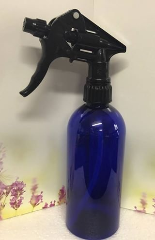 500ml Blue PET Trigger Spray Bottle - Black Trigger