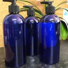 500ml Blue PET Pump bottle