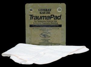 QuikClot Combat Gauze Trauma Pad Product Number: 210