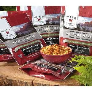12 Pack Wise food; for your camping outdoor needs