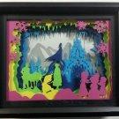 "Frozen Shadow Box Papercut Night Light - 9"" x 11"" x 2.5"""