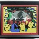 "Despicable Me Minions Papercut Shadow Box Night Light - 9"" x 11"" x 2.5"""