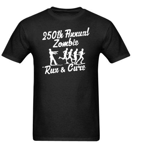 250th Annual Zombie Run for the Cure Walking Dead Gildan Men's Standard T-shirt