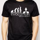 Best Buy Evolution of man EVOLUTION-MITSUBISHI Men Adult T-Shirt Sz S-2XL