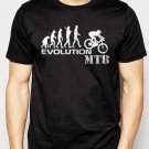 Best Buy Evolution of Mountain Biker MTB Ape Men Adult T-Shirt Sz S-2XL