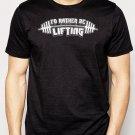 Best Buy I'd Rather Be LIFTING Men Adult T-Shirt Sz S-2XL