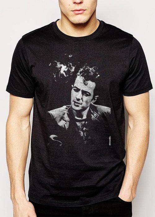 Best Buy Joe Strummer Black T-shirt Sz S M L XL Men Adult T-Shirt Sz S-2XL