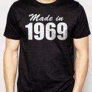 Best Buy Made In 1969 Mens T-Shirt Birthday Gift Tee Men Adult T-Shirt Sz S-2XL