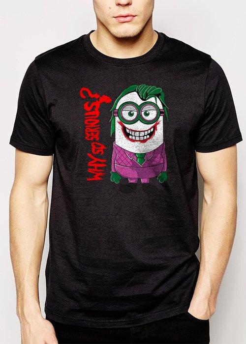 Best Buy Minion Joker Men Adult T-Shirt Sz S-2XL