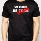 Best Buy Vegan As Fxck Men Adult T-Shirt Sz S-2XL