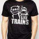 Best Buy ASDF I like Trains YouTube Children's Men Adult T-Shirt Sz S-2XL