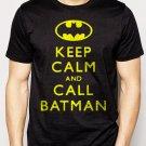 Best Buy Batman - Keep Calm and Call Batman Men Adult T-Shirt Sz S-2XL