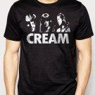 Best Buy CREAM ERIC CLAPTON JACK BRUCE GINGER BAKER Men Adult T-Shirt Sz S-2XL