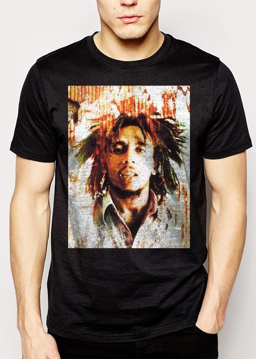 Best Buy Bob Marley Rasta Reggae Music R&B Men Adult T-Shirt Sz S-2XL