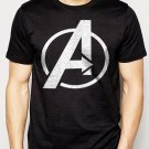 Best Buy Avengers Logo Marvel Men Adult T-Shirt Sz S-2XL