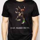 Best Buy Browning Camo Logo Deer Hunter Eat Sleep Hunt  Men Adult T-Shirt Sz S-2XL